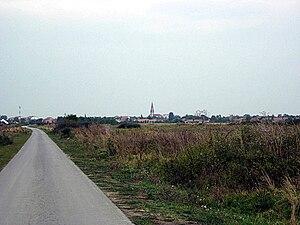 Jaša Tomić, Sečanj - Jaša Tomić, panoramic view
