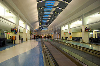 Jacksonville metropolitan area - Jacksonville International Airport Concourse C