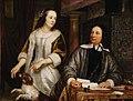 Jacob van Loo - Portret van een echtpaar in een interieur - 1333 - Museum of Fine Arts, Budapest.jpg