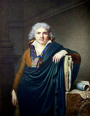 Jean-Baptiste Jacques Augustin - Self-portrait (1796)
