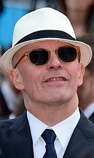 Jacques Audiard French film director and screenwriter
