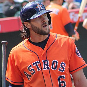 Jake Marisnick - Marisnick with the Astros in 2017