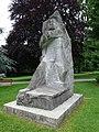 Jakob Probst (1880–1966), Hodler-Krieger oder Marignano-Krieger, 1944-45, Soldatendenkmal. 1955 eingeweiht durch General Guisan, Stadtpark Olten (5).jpg