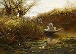 James Aumonier Where the Water Lilies Grow.jpg
