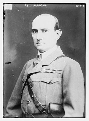 James Francis Jewell Archibald - Archibald circa 1915