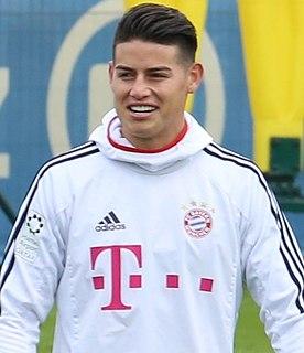 James Rodríguez Colombian footballer