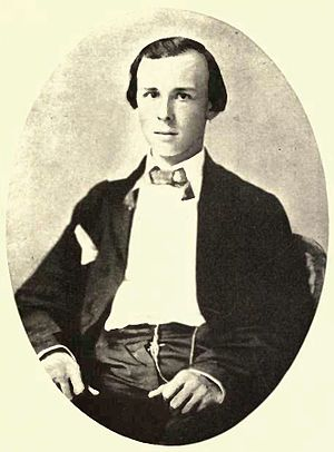 "Maryland, My Maryland - James Ryder Randall in 1861, the year he wrote ""Maryland, My Maryland"