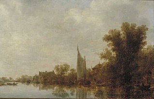 Landscape with a River Bank