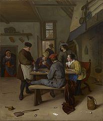 Cardplayers in a Tavern
