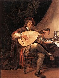 Jan Steen: Self-Portrait playing the Lute