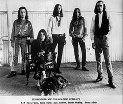 Big Brother and the Holding Company vuonna 1966 tai 1967.