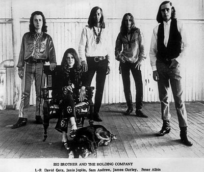 Picture of a band or musician: Big Brother & The Holding Company
