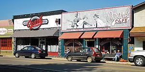 Jasper, Arkansas - Historic downtown Jasper