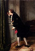 Jean Carolus, Peeping Tom, oil on panel, 46.5 x 32.5 cm, private collection.jpg