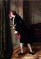 Jean Carolus, Peeping Tom, oil on panel, 46.5 x 32.5 cm, private collection.jpg