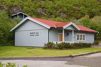 Jehovah's Witnesses practices - A Kingdom Hall of Jehovah's Witnesses in Norway.