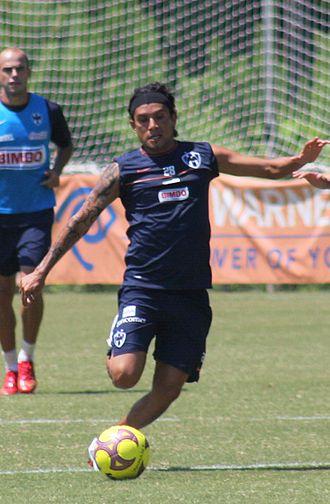 Jesús Arellano - Arellano with Monterrey in 2008