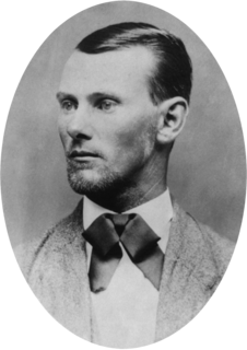 Jesse James American outlaw, confederate guerrilla, and train robber