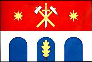 Jezdovice - Image: Jezdovice vlajka