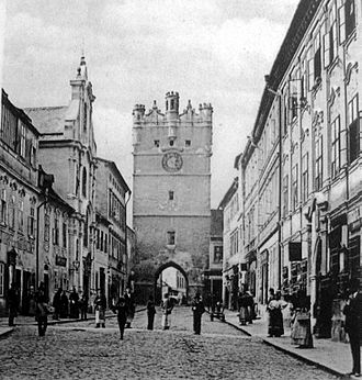 Jihlava - Brána Matky Boží (Picture from 1899)