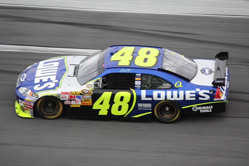 Jimmie Johnson 2008 Lowes Chevy Impala