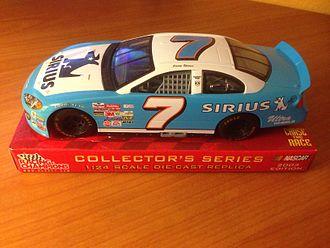 Johnny Lightning - A 1:24 scale model of a NASCAR racecar