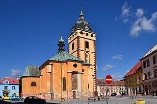 Jirkov Town in Ústí nad Labem, Czech Republic