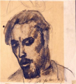 Jože Gorjup - Avtoportret (1929).png