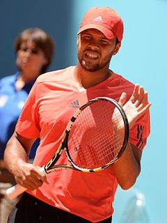 Jo-Wilfried Tsonga French tennis player