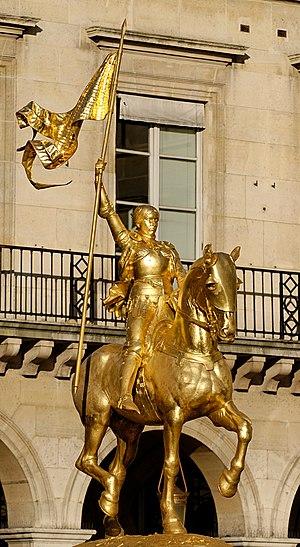 Jeanne d'Arc (Frémiet) - Image: Joan of Arc Emmanuel Fremiet