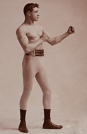 Joe Choynski - Image: Joe Choynski by Genelli, c 1893