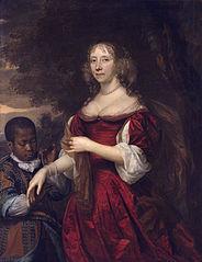 Margaretha van Raephorst (d 1690). Wife of Cornelis Tromp
