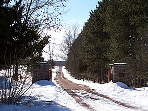 John Muir - Entrance to Fountain Lake Farm near Portage, Wisconsin