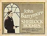 John Barrymore in Sherlock Holmes.jpg