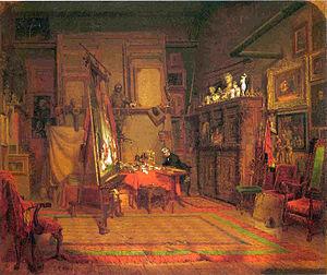 John Ferguson Weir - Image: John Ferguson Weir, Artist's Studio
