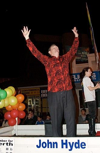 John Hyde (Australian state politician) - Image: John Hyde Pride