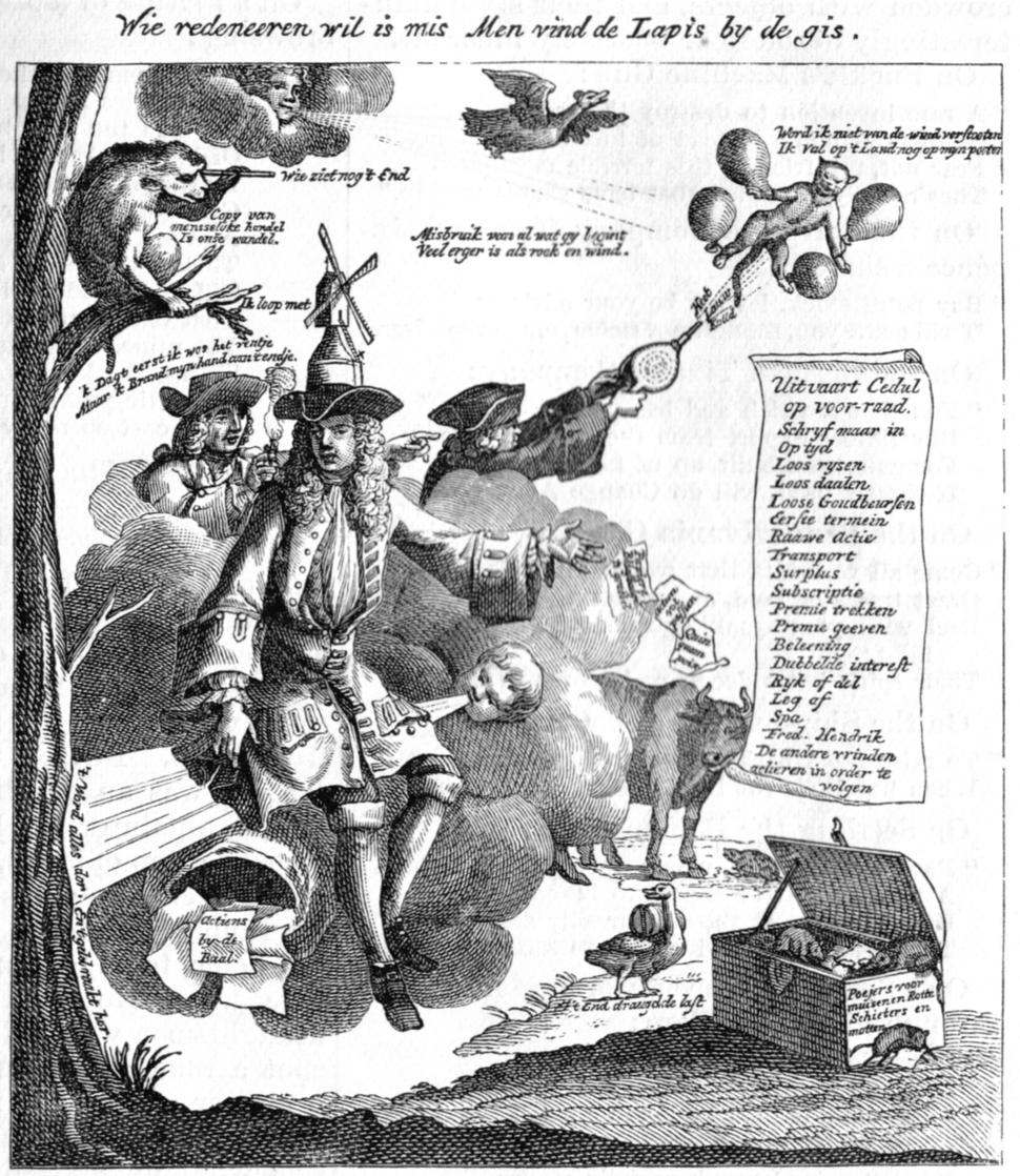 John Law cartoon (1720)