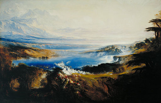 John Martin - The Plains of Heaven - Google Art Project