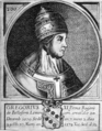 John Wycliff, last of the schoolmen and first of the English reformers - POPE GREGORY XI. 1370-8.png