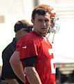 Johnny Manziel training camp Browns 2014.jpg