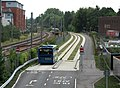 Joining the guided busway - geograph.org.uk - 2543907.jpg