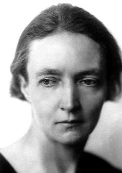Irène Joliot-Curie 1935.
