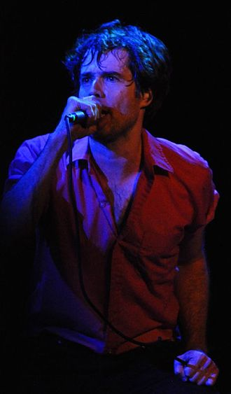 Jon Wurster - Jon Wurster performing with Superchunk in 2010