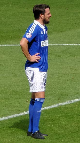 Jonathan Douglas - Douglas playing for Ipswich Town in 2015.