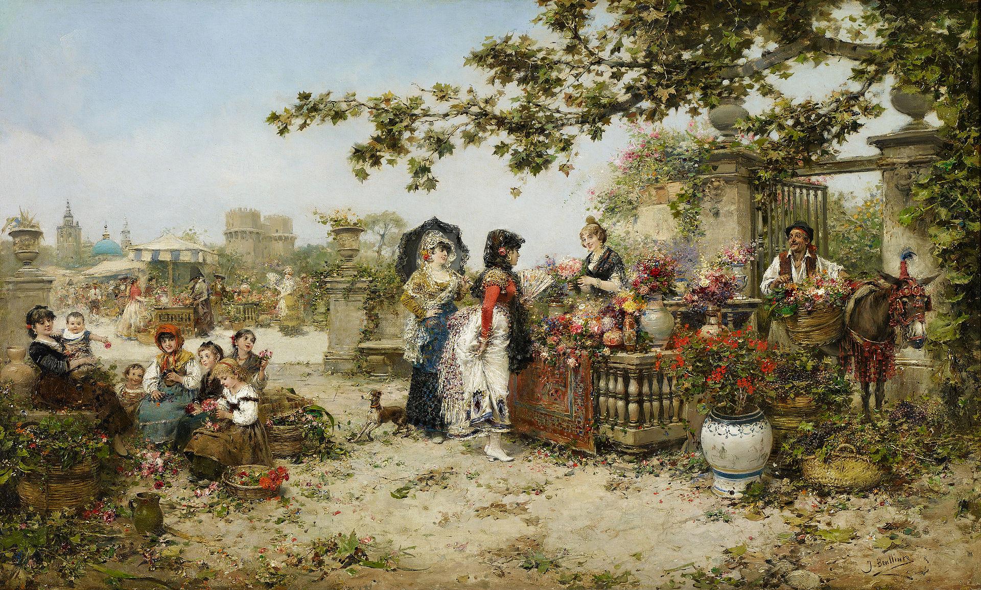 Хосе Бенльюре Жиль Цветок Market.jpg