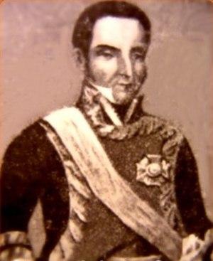 Battle of Ayacucho - Last Viceroy of Perú, José de la Serna e Hinojosa, Count of the Andes.