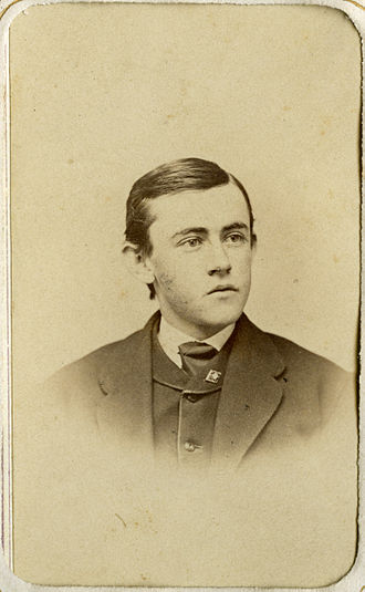 Joseph Bucklin Bishop - Joseph Bucklin Bishop shortly after graduating from Brown University in 1870