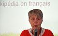 Journée Wikipédia, objet scientifique 2013 09 Régine Fabri 4.JPG