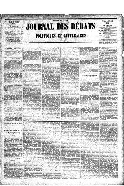 File:Journal des débats, 8 juillet 1890.djvu