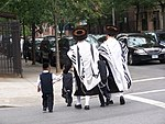 Jewish Americans in Brooklyn. The Jewish population in New York is the largest outside Israel.